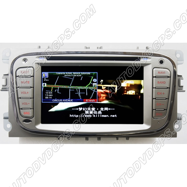 ford mondeo s max focus gps navigation dvd radio ipod rds. Black Bedroom Furniture Sets. Home Design Ideas