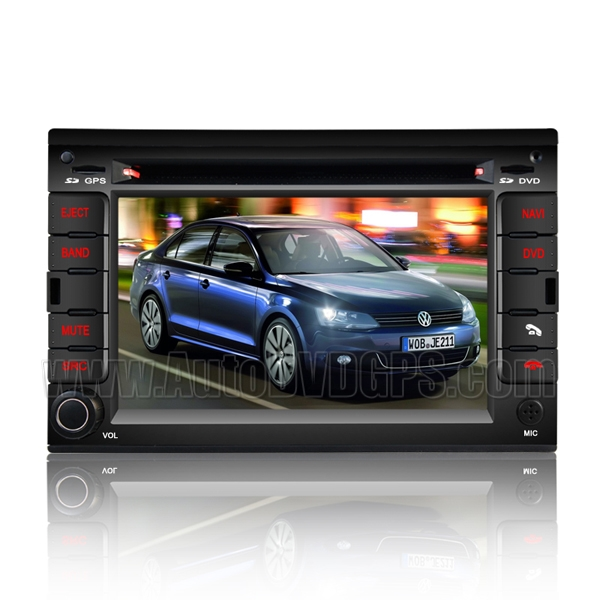 VW Jetta Car DVD GPS player with Digital HD Tuchscreen
