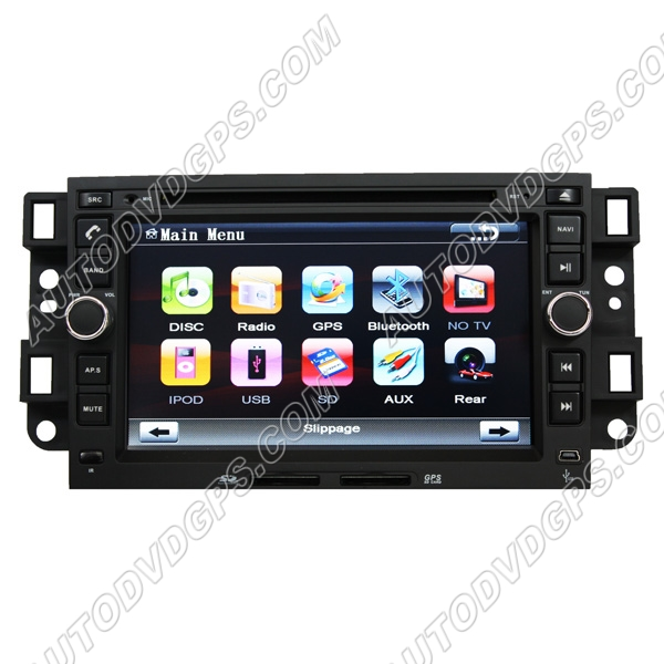 Chevrolet CAPTIVA Aftermarket Unit with DVD and GPS
