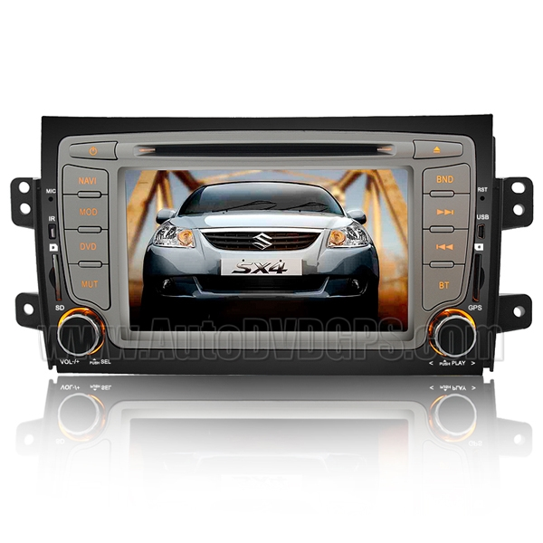 Suzuki SX4 Multimedia System with GPS navigation Guide