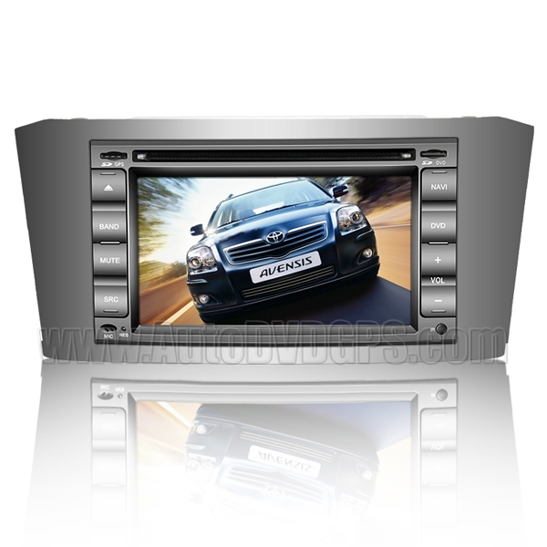 Car DVD Player with in-dash GPS Navigation System and Digital Touchscreen /iPod Bluetooth V-CDC for 2003-07 Toyota Avensis