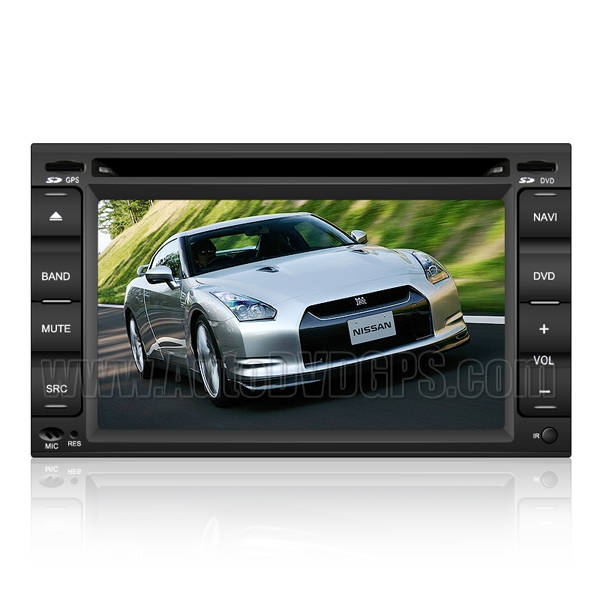 2007-2009 Nissan Altima DVD player with GPS Navigation and HD Touchscreen