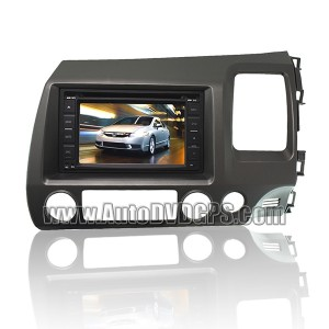 car DVD player for HONDA CIVIC right-handed driving