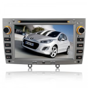 car DVD player for Peugeot 308