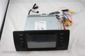 2 din car dvd player for BMW 5-E39 and BMW X5-E53