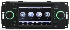 main menu interface of this car DVD player