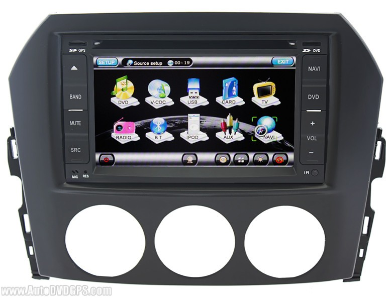 QL MZD725 Car DVD GPS Navigation System for Mazda MX 5