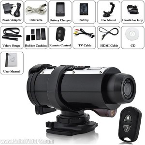 The accessories for this HD recorder camera