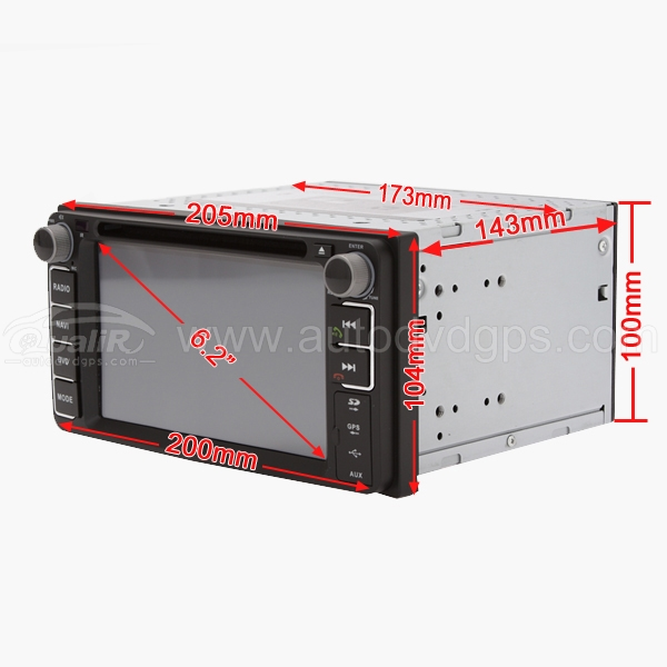2 din universal (android) ahr-7180