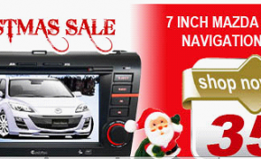 7 Inch Mazda 3 DVD GPS Player On Christmas Sale