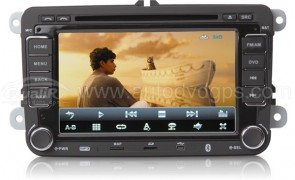 Android VW 2 Din Car DVD GPS Player