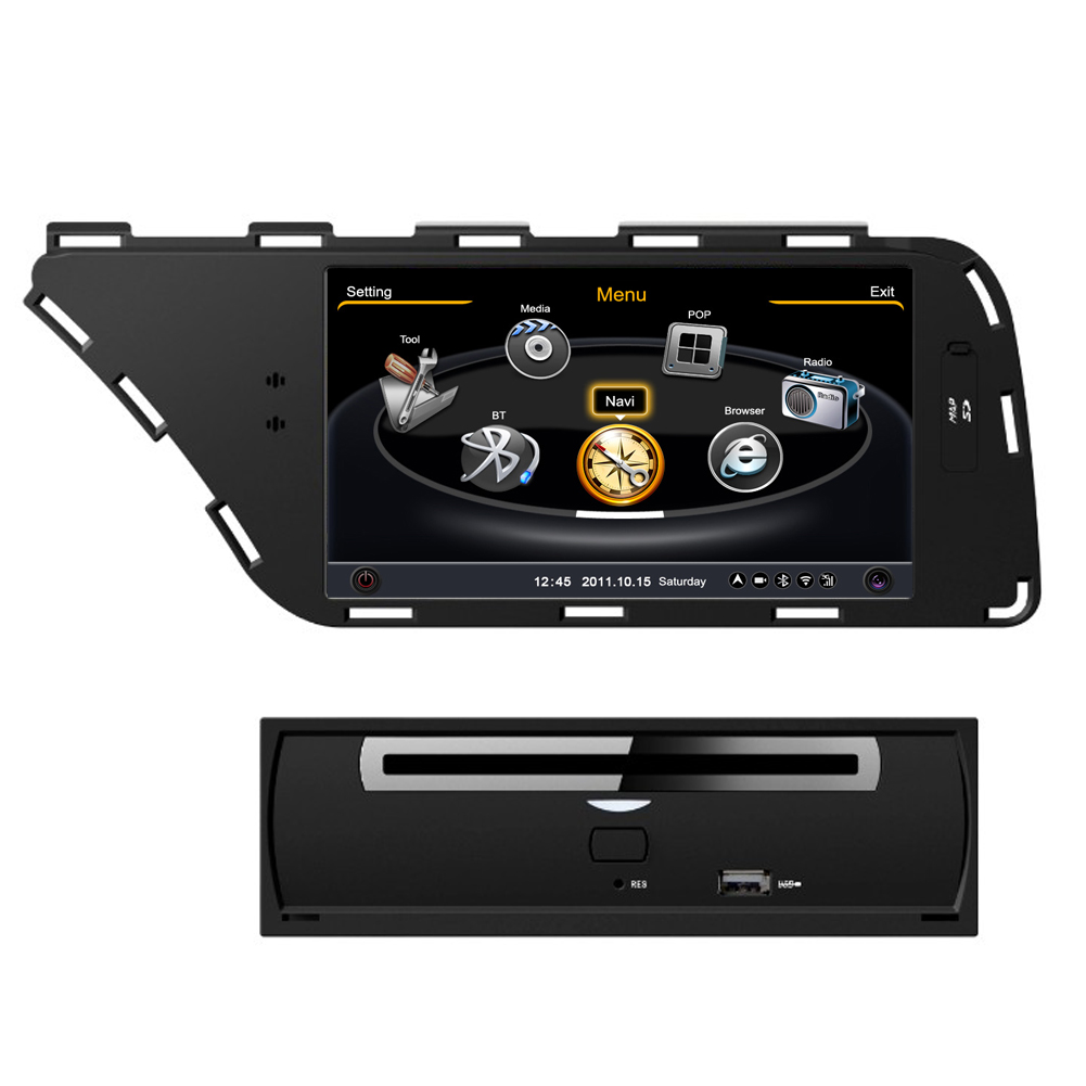 car dvd gps navigation system for 2008 2013 audi a4 a5 qualir blog. Black Bedroom Furniture Sets. Home Design Ideas